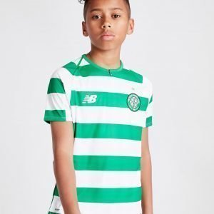 New Balance Celtic Fc 2018/19 Home Shirt Valkoinen