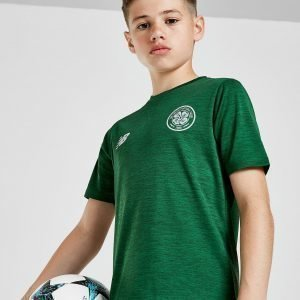New Balance Celtic Fc 2018/19 Leisure Shirt Vihreä