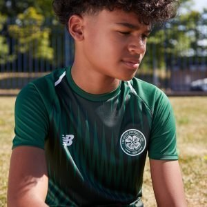 New Balance Celtic Fc 2018/19 Pre Match Shirt Vihreä