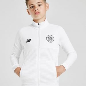 New Balance Celtic Fc 2018/19 Walk Out Jacket Valkoinen