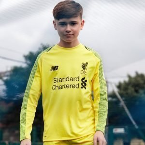 New Balance Liverpool Fc 2018 Home Gk Shirt Keltainen