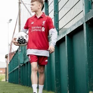 New Balance Liverpool Fc 2018 Home Shorts Juniorit Ennakkotilaus Punainen
