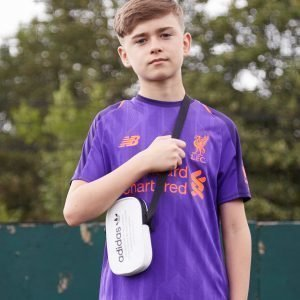 New Balance Liverpool Fc 2018/19 Away Paita Violetti