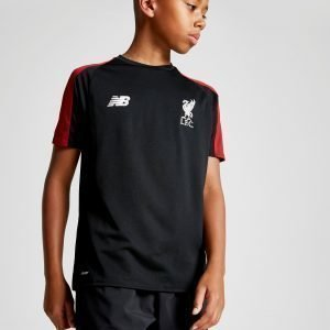 New Balance Liverpool Fc Training Shirt Musta
