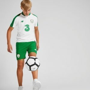 New Balance Republic Of Ireland 2018/19 Away Shorts Vihreä