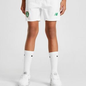 New Balance Republic Of Ireland 2018/19 Home Shortsit Valkoinen