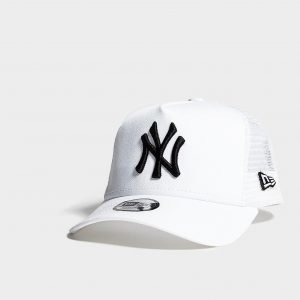 New Era Mlb New York Yankees Trucker Cap Lippis Valkoinen