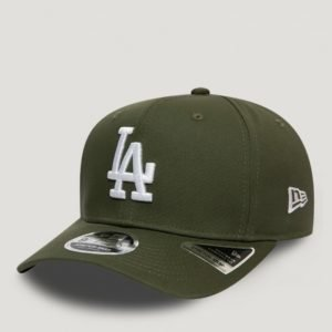 New Era Tonal Stretch Snap 9fifty Los Lippis Vihreä