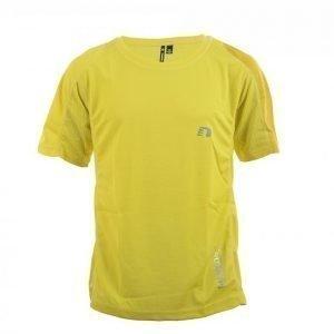 Newline Imotion Tee Tekninen T-paita Keltainen