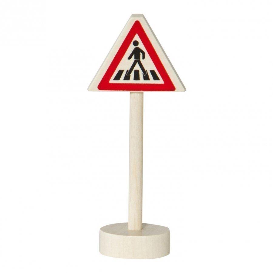 Nic Traffic Sign Caution Pedestrian Crossing Leluauto