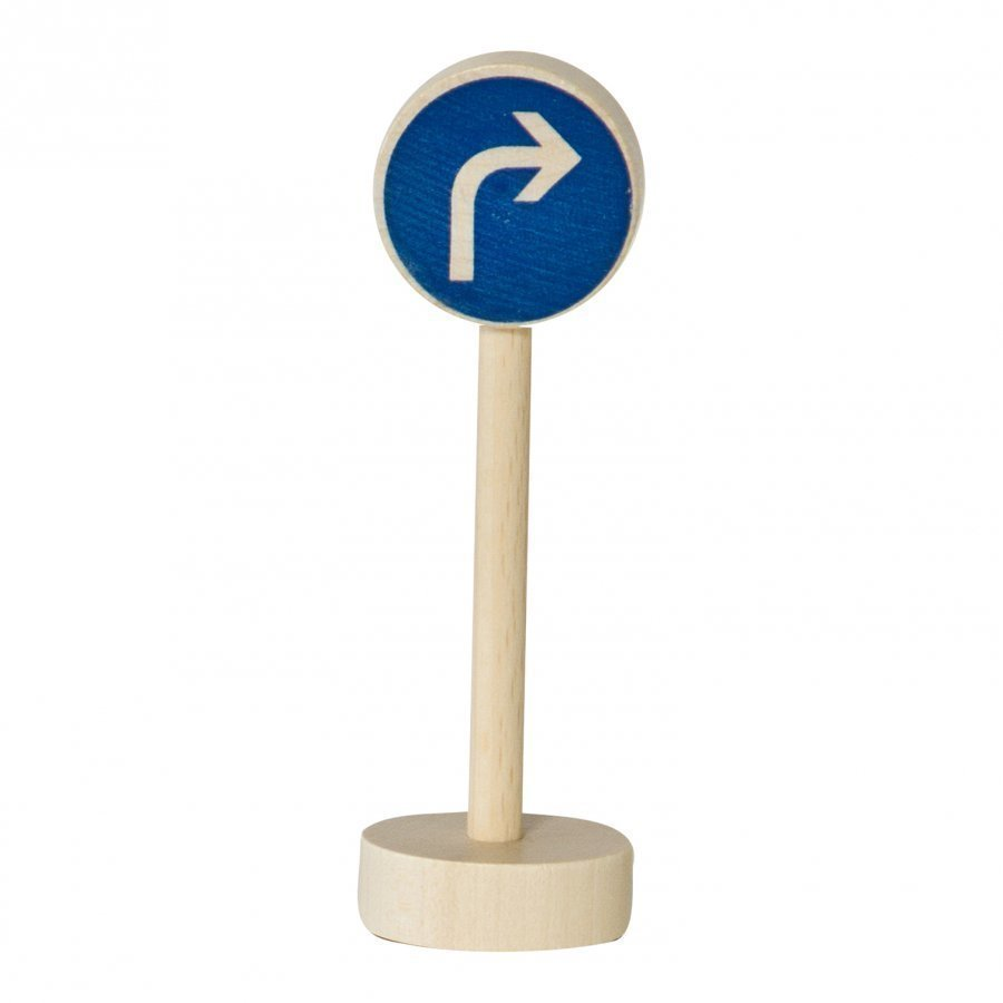 Nic Traffic Sign Right Turn Leluauto