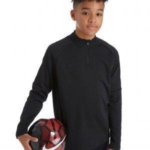 Nike Academy 1/4 Zip Takki Juni Musta