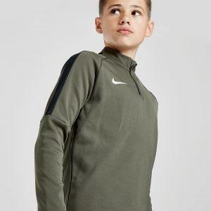 Nike Academy 1/4 Zip Verryttelytakki Vihreä