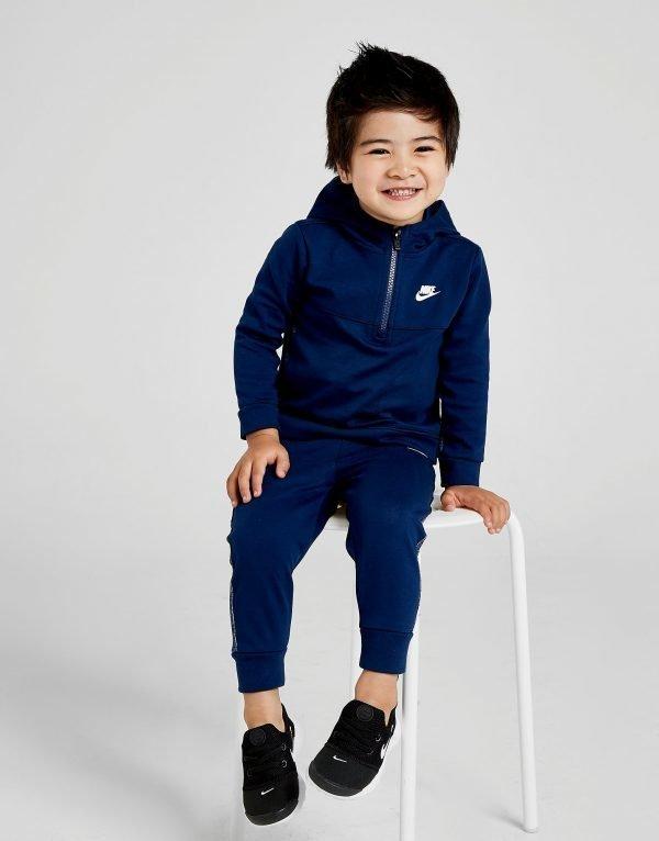 Nike Advance 1/4 Zip Tracksuit Infant Laivastonsininen