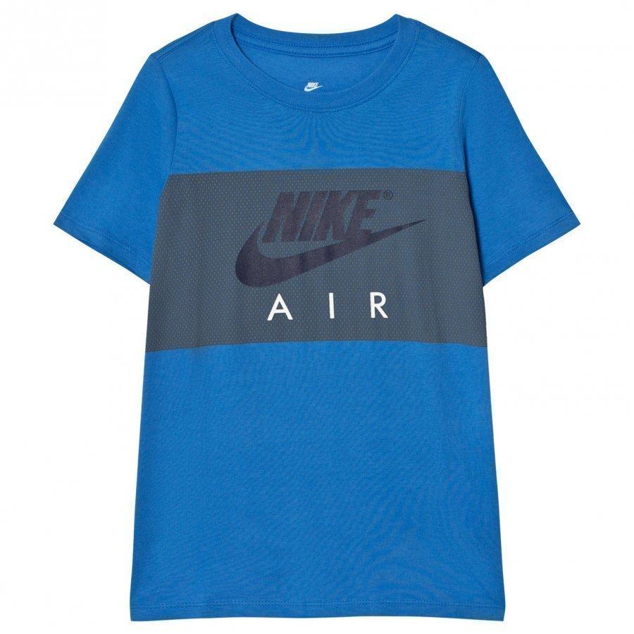 Nike Air Block T-Shirt In Blue T-Paita