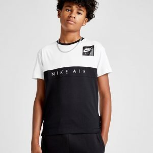 Nike Air Colour Block T-Paita Valkoinen