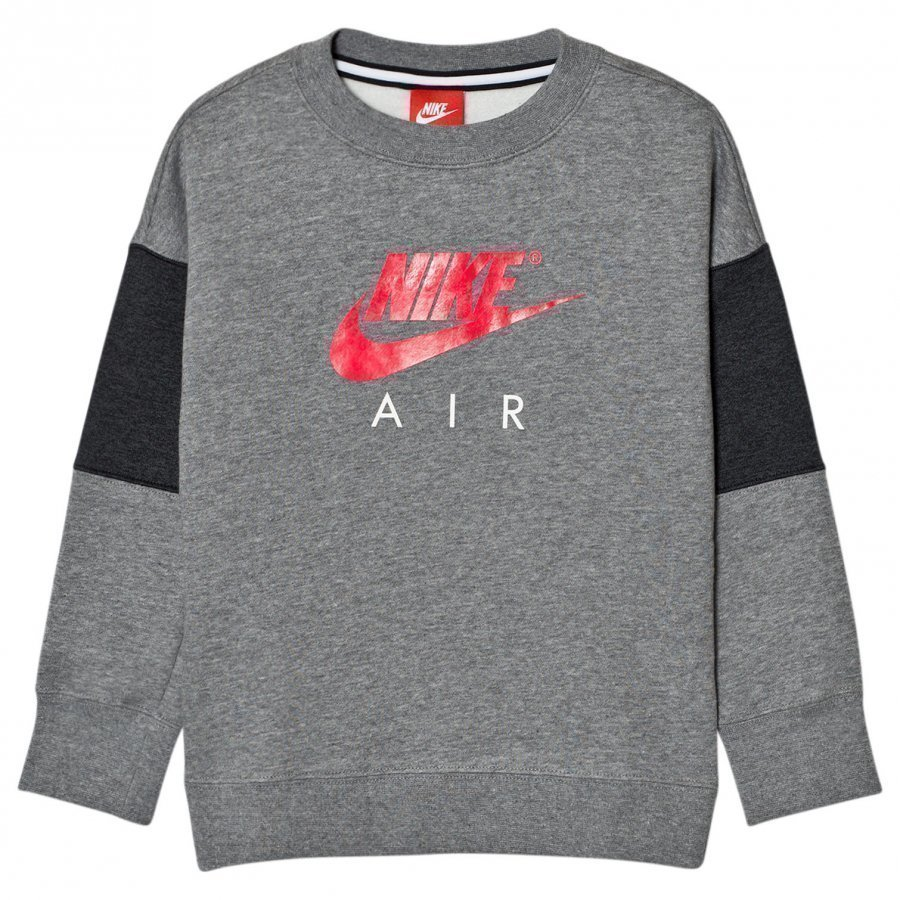 Nike Air Crew Sweater Gray Pitkähihainen T-Paita