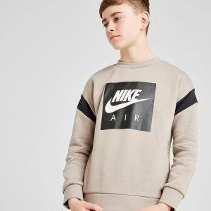 Nike Air Crew Sweatshirt Ruskea