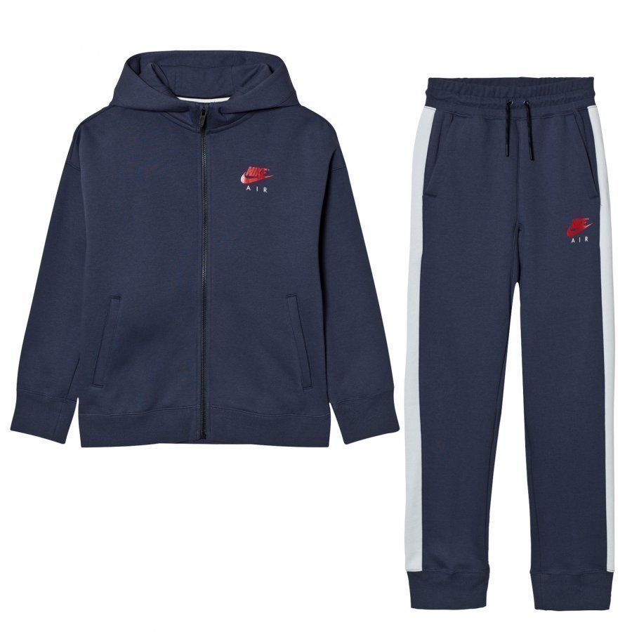 Nike Air Fleece Cuffed Tracksuit Thunder Blue Verryttelyasu