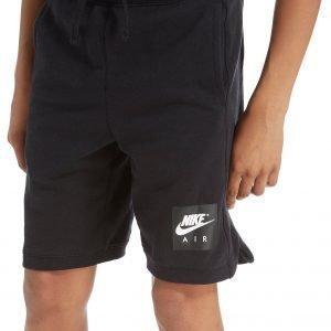 Nike Air Fleece Shortsit Musta