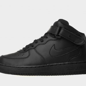 Nike Air Force 1 Mid Musta