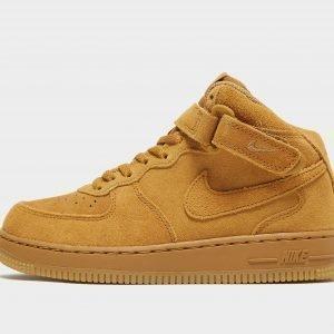Nike Air Force 1 Mid Ruskea