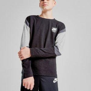 Nike Air Long Sleeve T-Shirt Musta