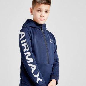 Nike Air Max 1/2 Zip Hoodie Sininen