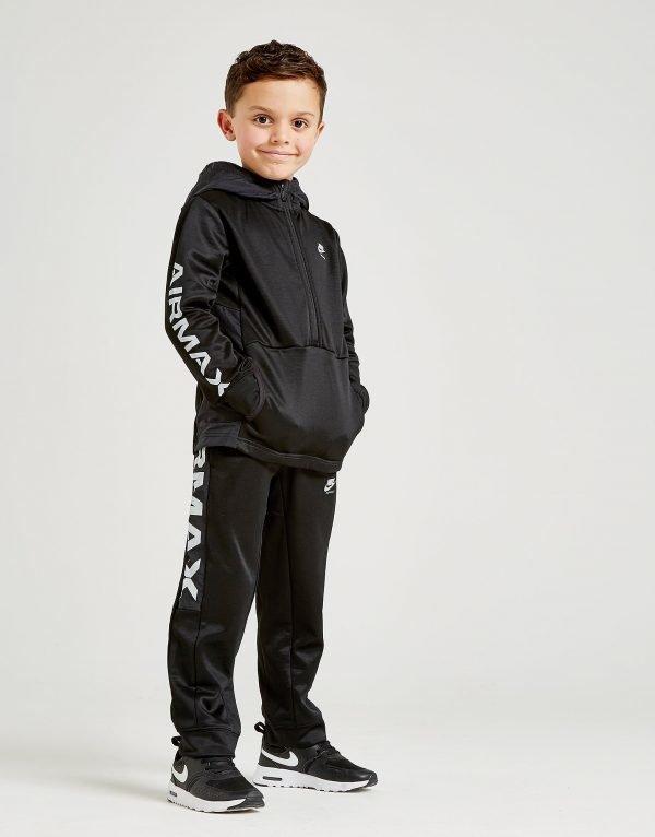 Nike Air Max 1/2 Zip Poly Suit Musta