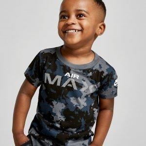 Nike Air Max Camo T-Paita  Sininen