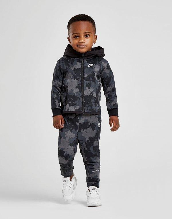 Nike Air Max Full Zip Suit Infant Musta