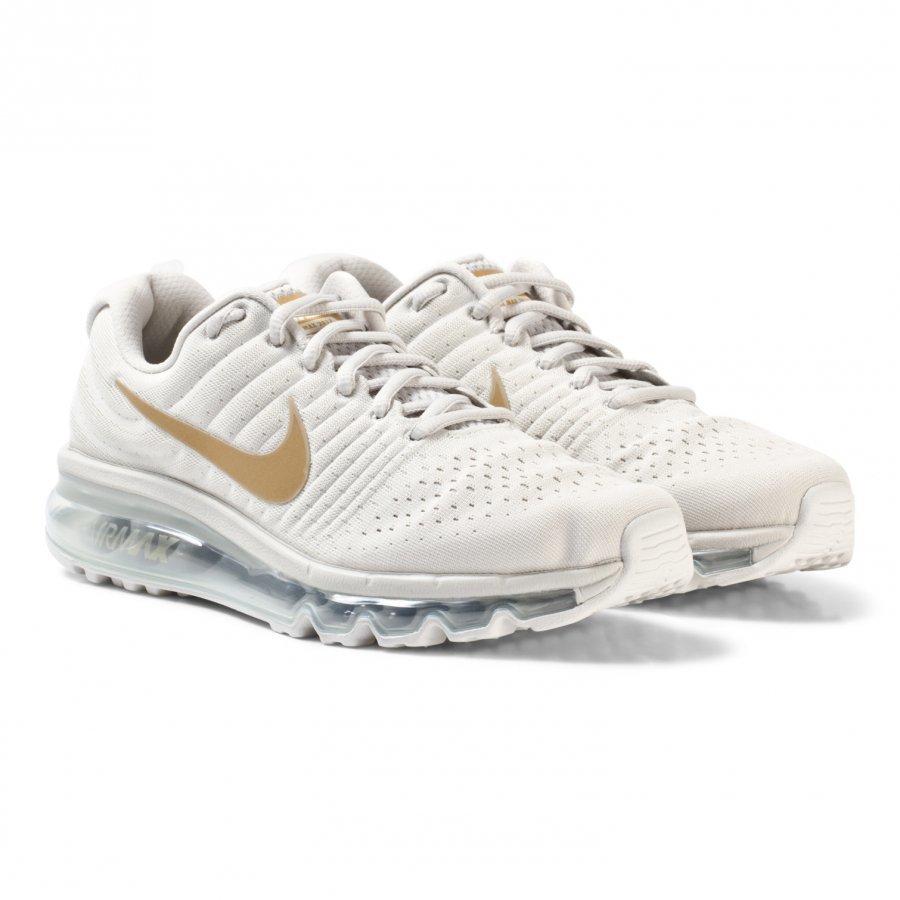 Nike Air Max Junior Shoe White/Gold Urheilukengät