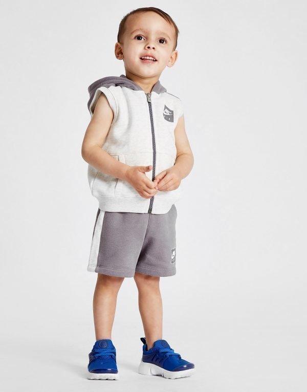 Nike Air Sleeveless Huppari & Shortsit Valkoinen