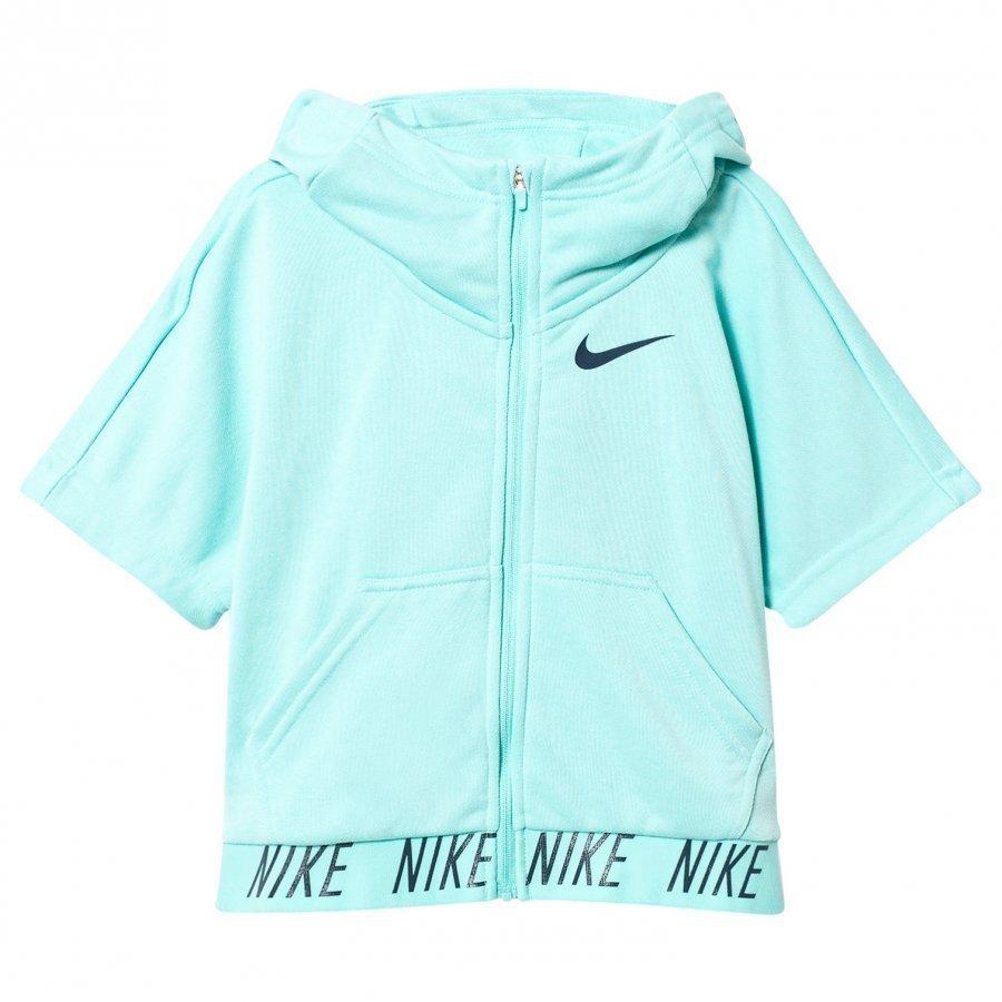 Nike Aqua Green Training Hoodie Fleece Huppari