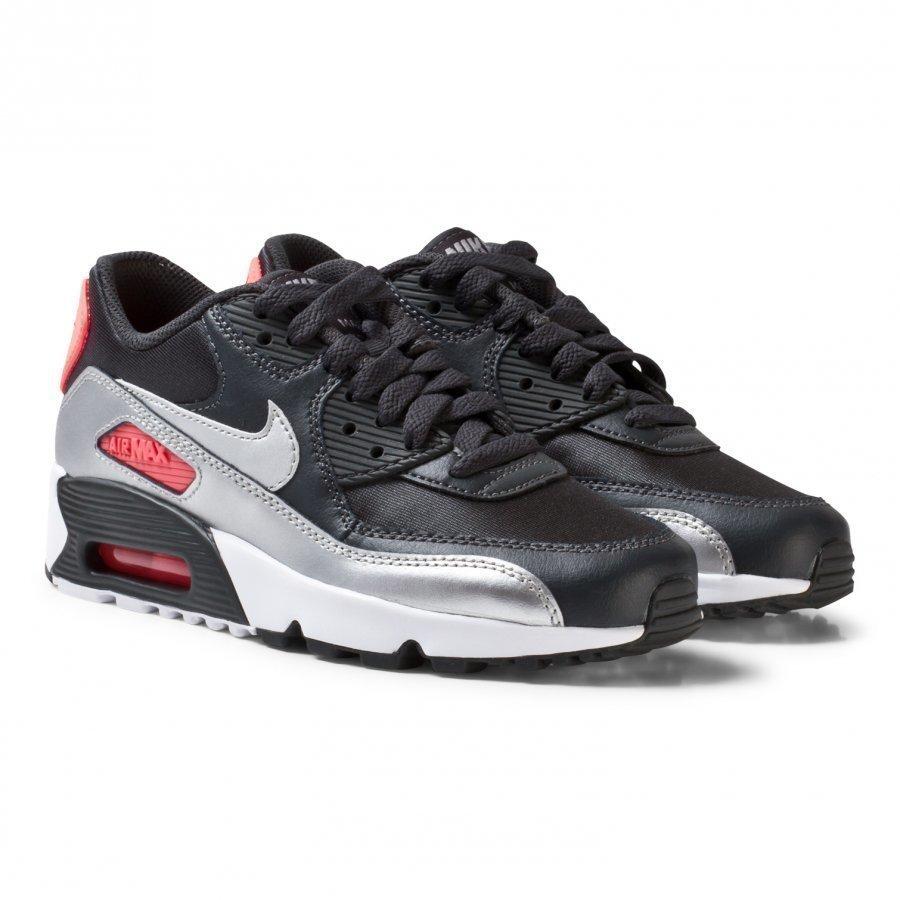 Nike Black Air Max 90 Mesh Junior Shoe Lenkkarit