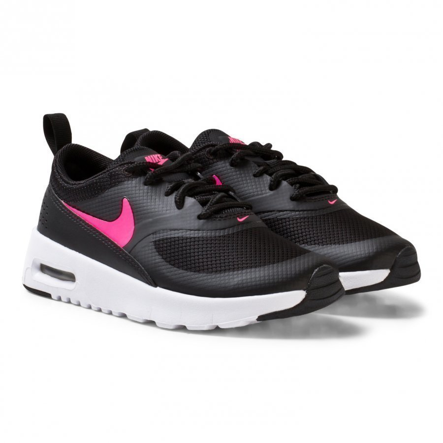 Nike Black Air Max Thea Kids Shoe Lenkkarit