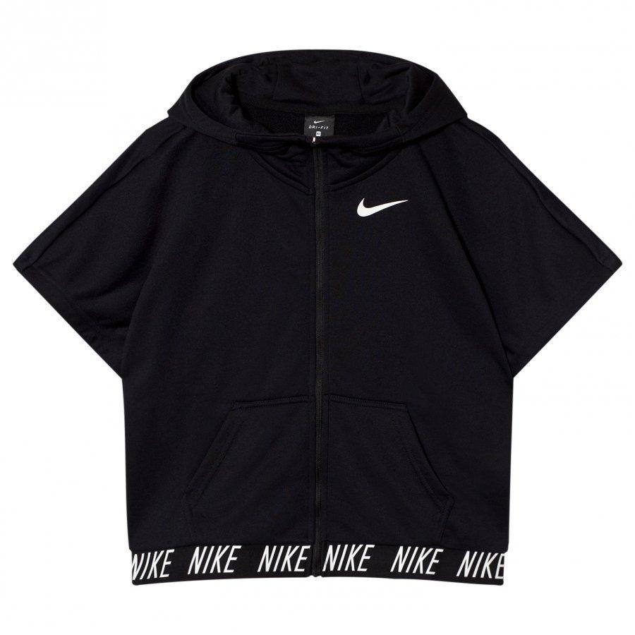 Nike Black Dry Fleece Studio Hoodie Fleece Huppari