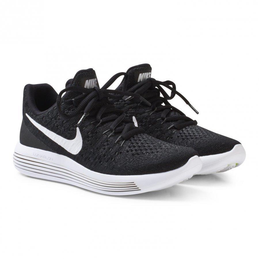 Nike Black Lunarepic Flyknit 2 Junior Running Shoe Urheilukengät