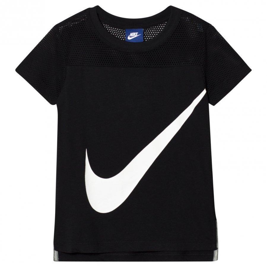 Nike Black Swoosh Tee T-Paita