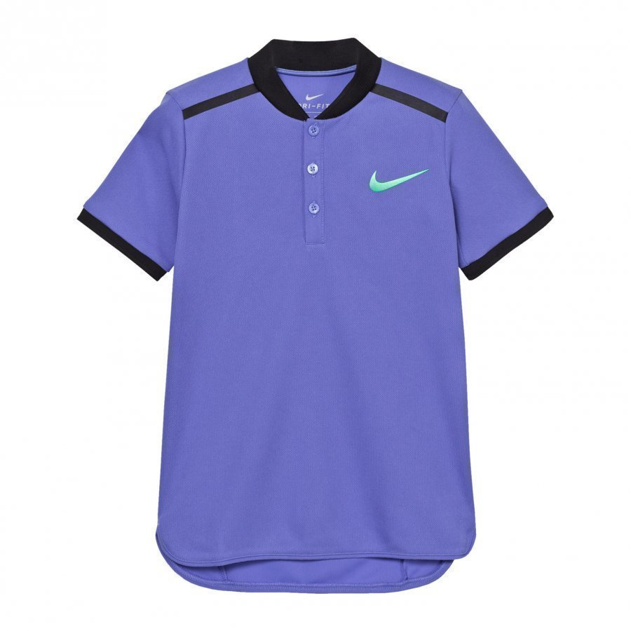 Nike Blue Advance Tennis Polo Pikeepaita