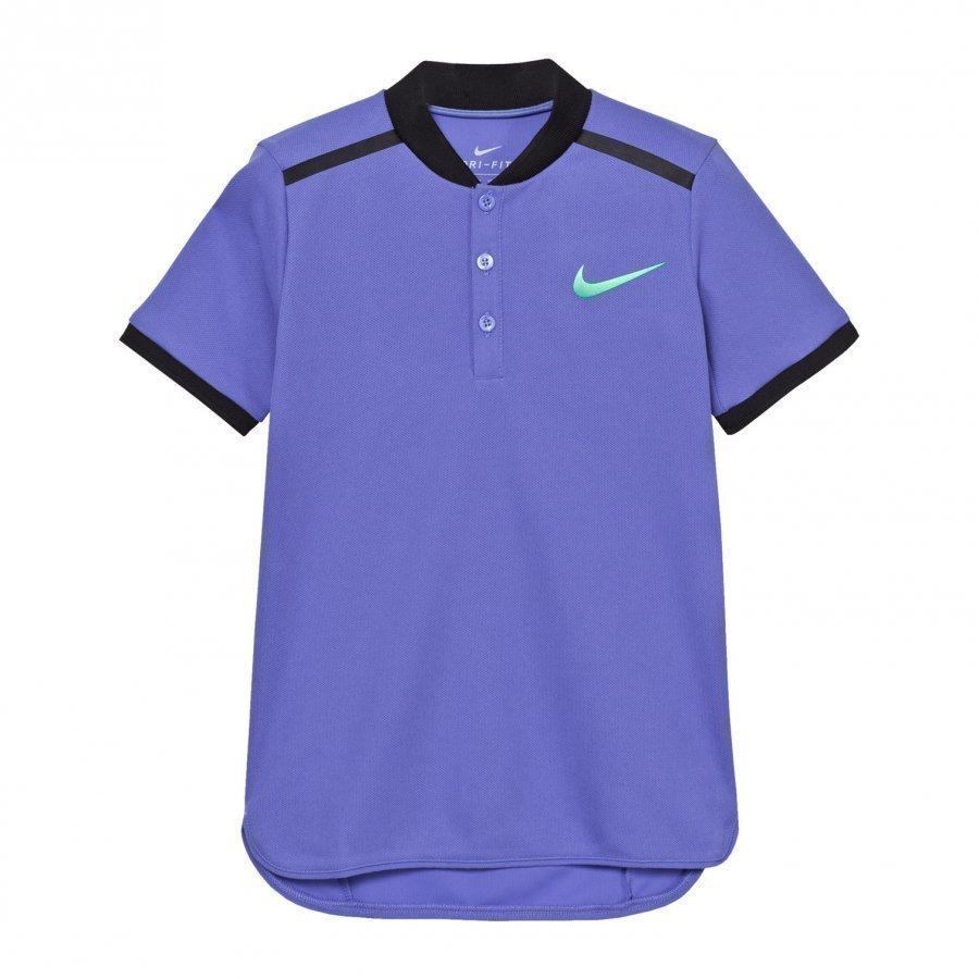 Nike Blue Advance Tennis Polo Pikeepaita