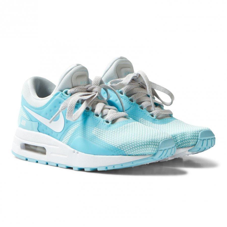 Nike Blue And Silver Air Max Zero Essential Trainers Lenkkarit