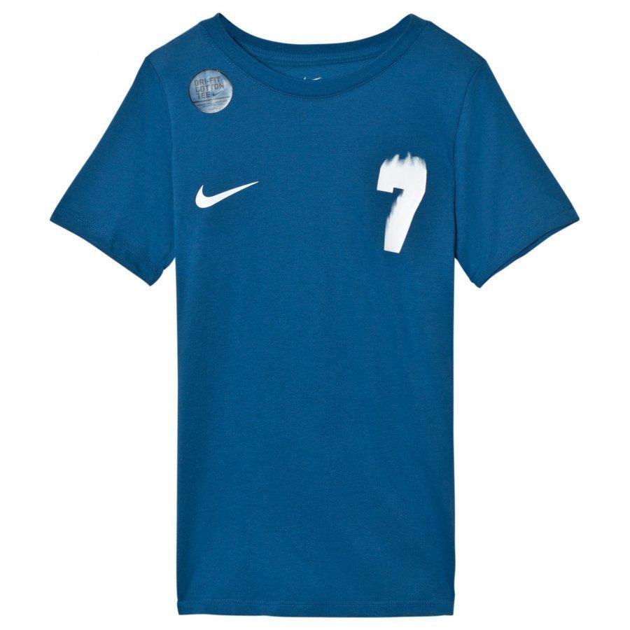 Nike Blue Cr7 Tee T-Paita
