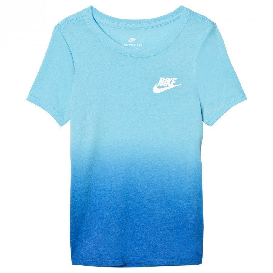 Nike Blue Dip Dye Tee T-Paita