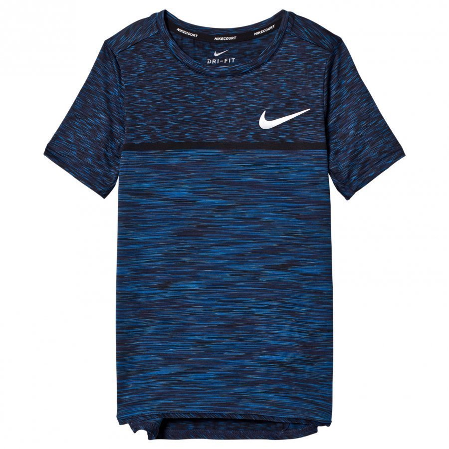 Nike Blue Dry Challenger Tennis Tee T-Paita