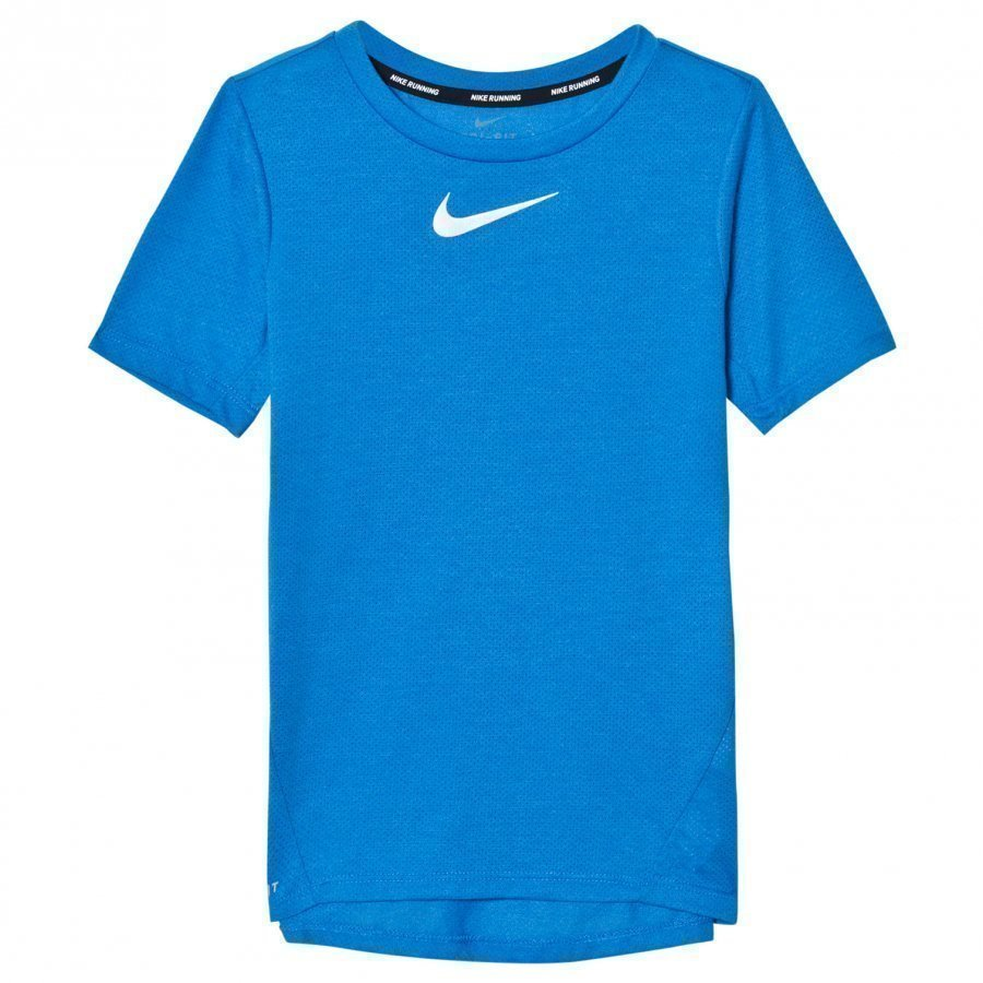 Nike Blue Tailwind Dry Tee T-Paita
