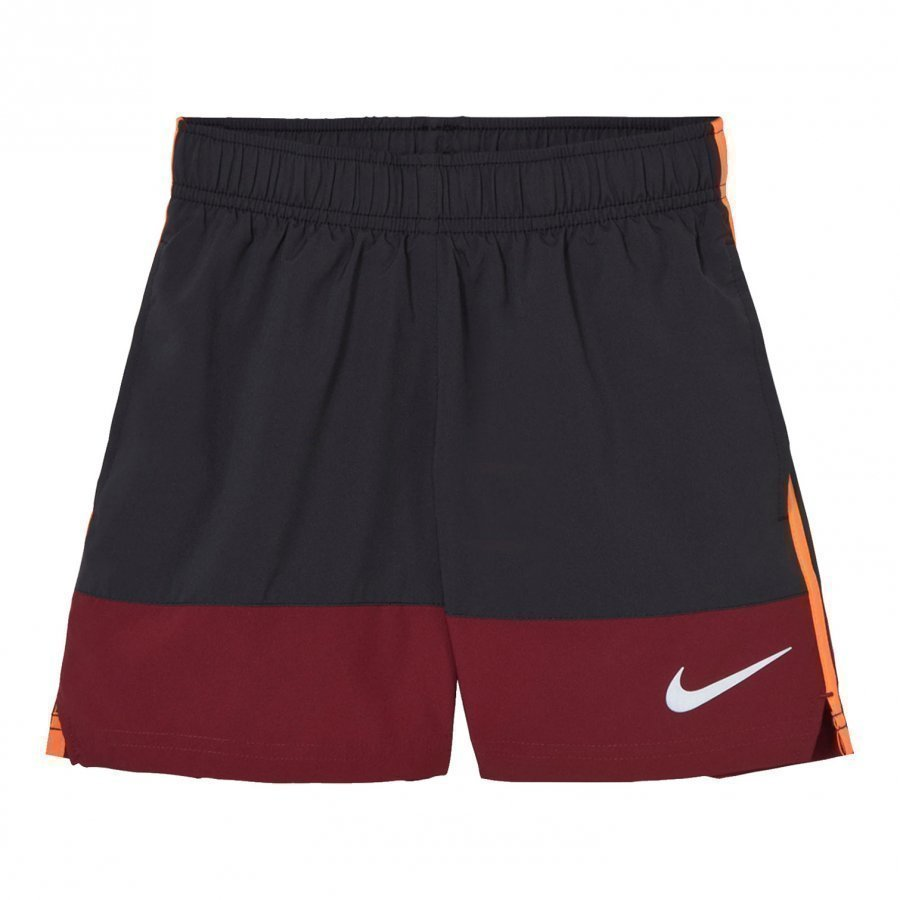 Nike Boys´ Black And Red Running Short Urheilushortsit