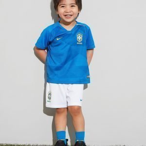 Nike Brazil 2018 Away Kit Infant Sininen