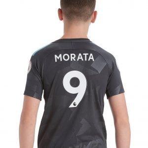 Nike Chelsea Fc Third 2017/18 Morata #9 Shirt Harmaa