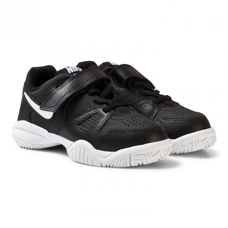 Nike City Court 7 Kids Tennis Shoe Black Urheilukengät